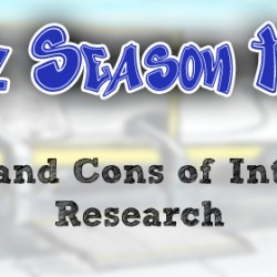 Pros and Cons of Internet Research