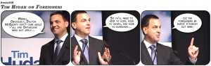 Tim Hudak on Foreigners