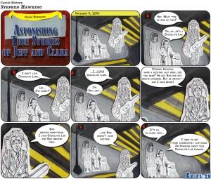 Comic History: Stephen Hawking